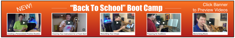 Back to School Boot Camp Banner